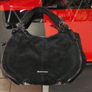 Donald J.Pliner suede bag,excellent used condition